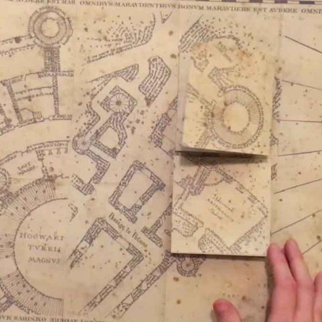 Marauders Map Printable Marauder S Full Size Replica 8 Steps With inside Marauder's Map Replica Printable