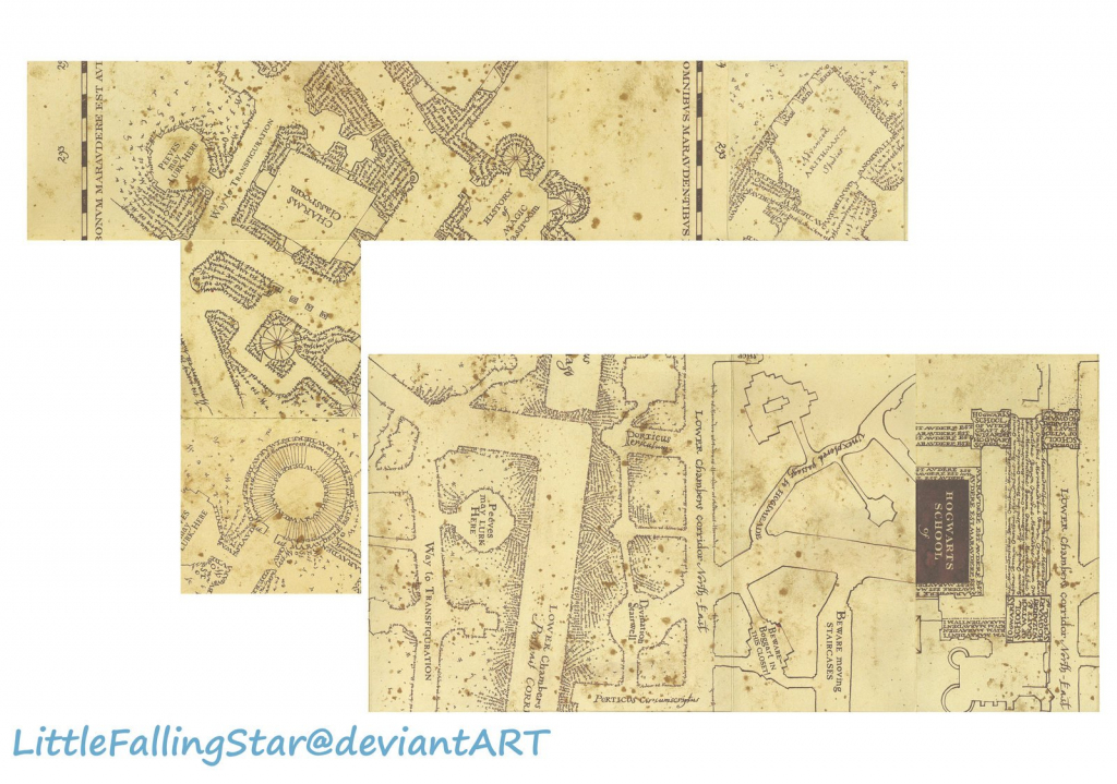 Marauders Map Template. Mappa Del Malandrino Italian Harry Potter intended for Marauders Map Template Printable