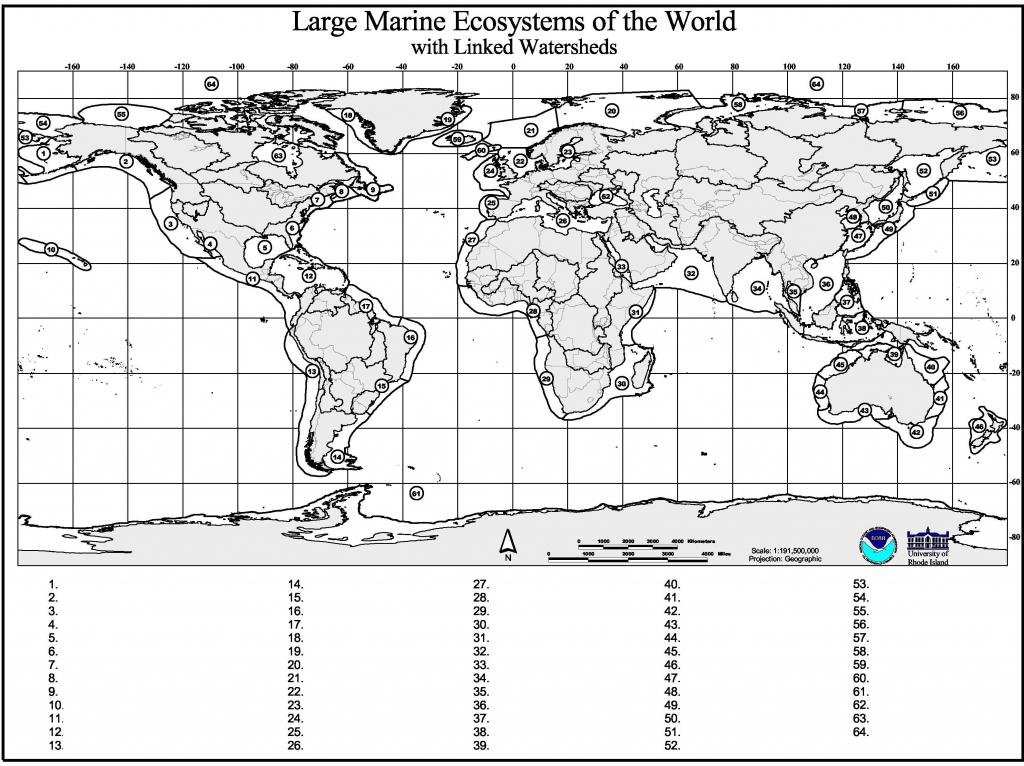 Marine Geography Quiz – Gcaptain inside World Map Quiz Printable