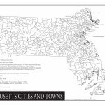 Massachusetts/cities And Towns   Wazeopedia Throughout Printable Map Of Massachusetts Towns
