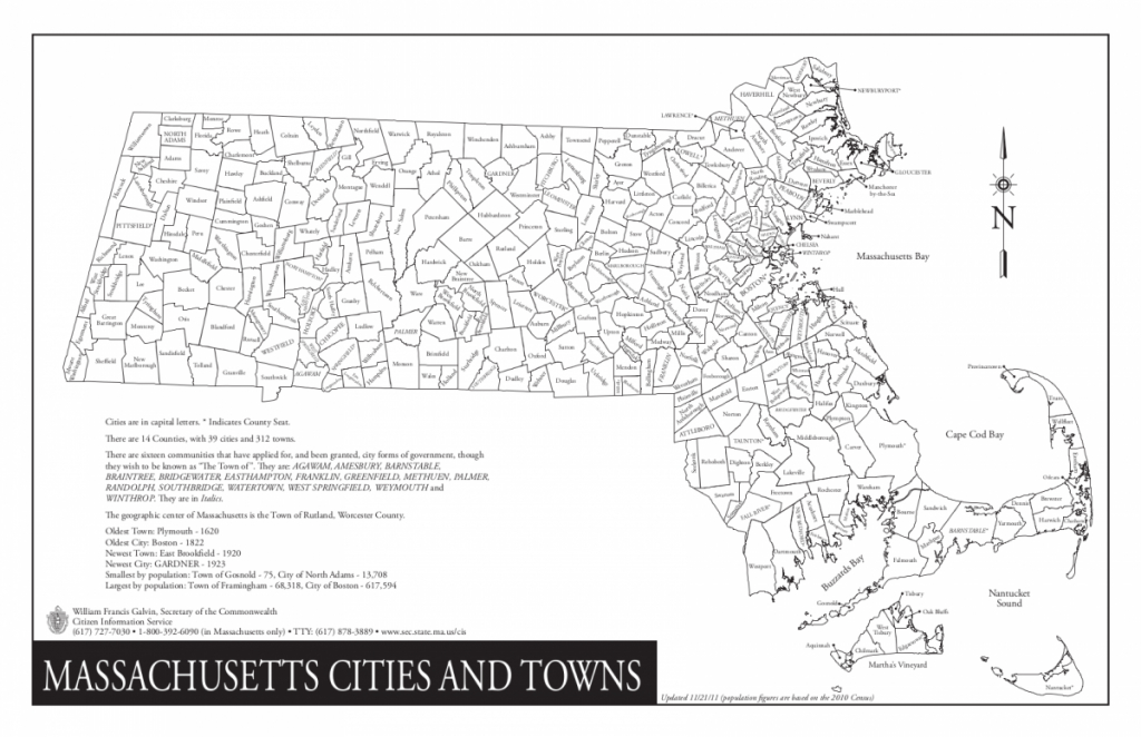 Massachusetts/cities And Towns - Wazeopedia throughout Printable Map Of Massachusetts Towns