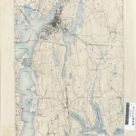 Massachusetts Historical Topographic Maps   Perry Castañeda Map With Printable Map Of Falmouth Ma