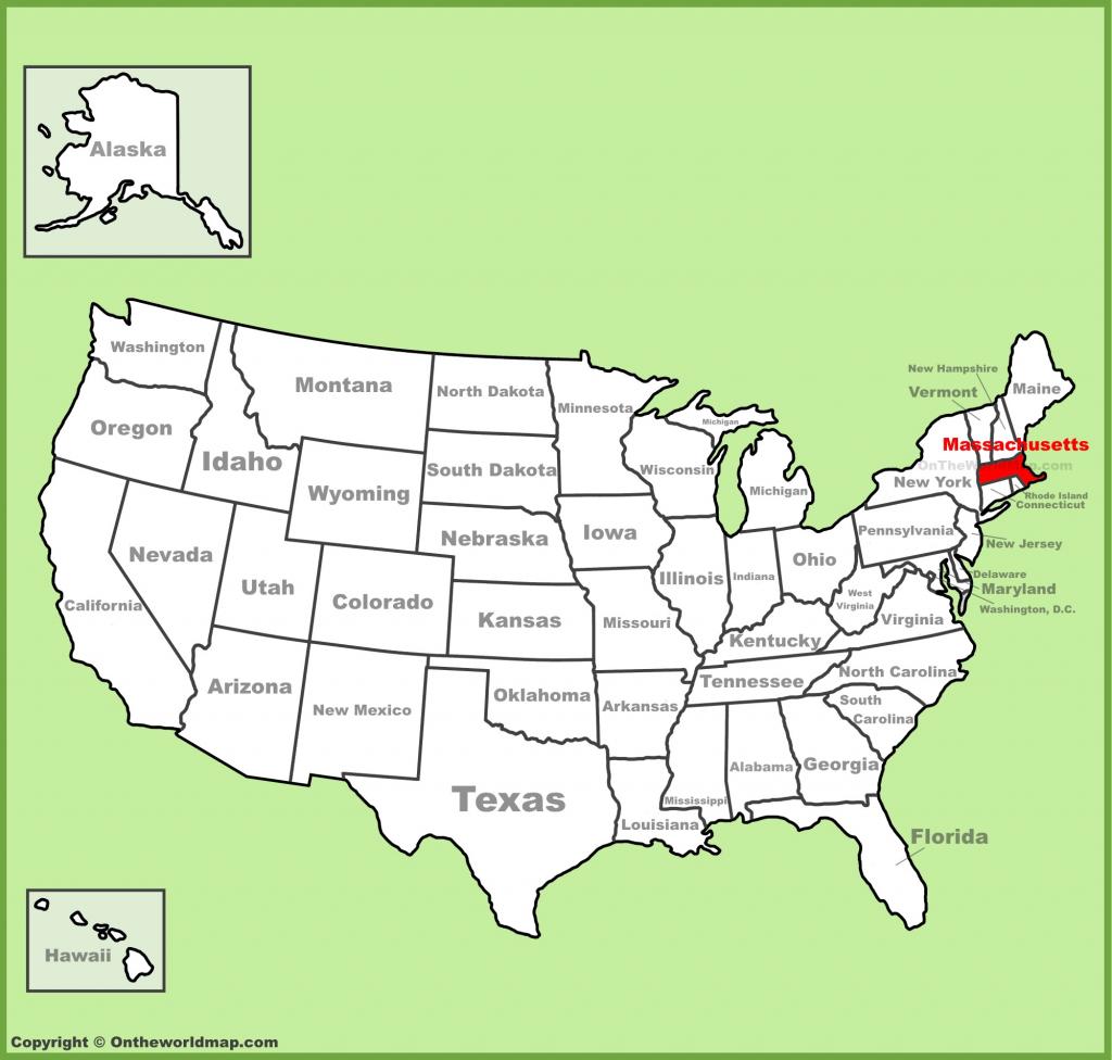 Massachusetts State Maps | Usa | Maps Of Massachusetts (Ma) within Printable Map Of Massachusetts Towns