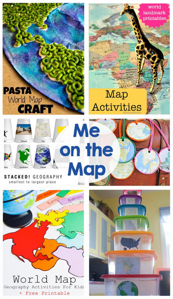 Me On The Map | Bloggers Best | Map Activities, Teaching Map Skills throughout Me On The Map Printables