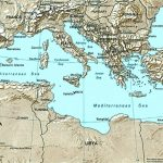 Mediterranean Port Call Maps Pertaining To Mediterranean Map Printable