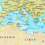 Mediterranean Sea Maps | Maps Of Mediterranean Sea Inside Printable Map Of The Mediterranean Sea Area