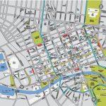 Melbourne Cbd Map Intended For Brisbane Cbd Map Printable