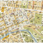 Melbourne Central District Tourist Map Australia City 3   World Wide In Melbourne Tourist Map Printable