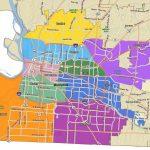 Memphis City Council District Map   City Of Memphis Map (Tennessee Regarding Memphis City Map Printable