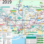 Metro Map Of Barcelona 2019 (The Best) In Barcelona Metro Map Printable