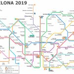 Metro Map Of Barcelona 2019 (The Best) Pertaining To Barcelona Metro Map Printable