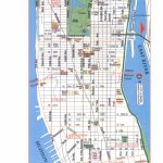 Metro Map Regarding Printable Map Of Manhattan Pdf