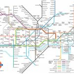 Metrokaart Londen | Londen In 2019   London Tube Map, Underground Inside London Underground Map Printable A4