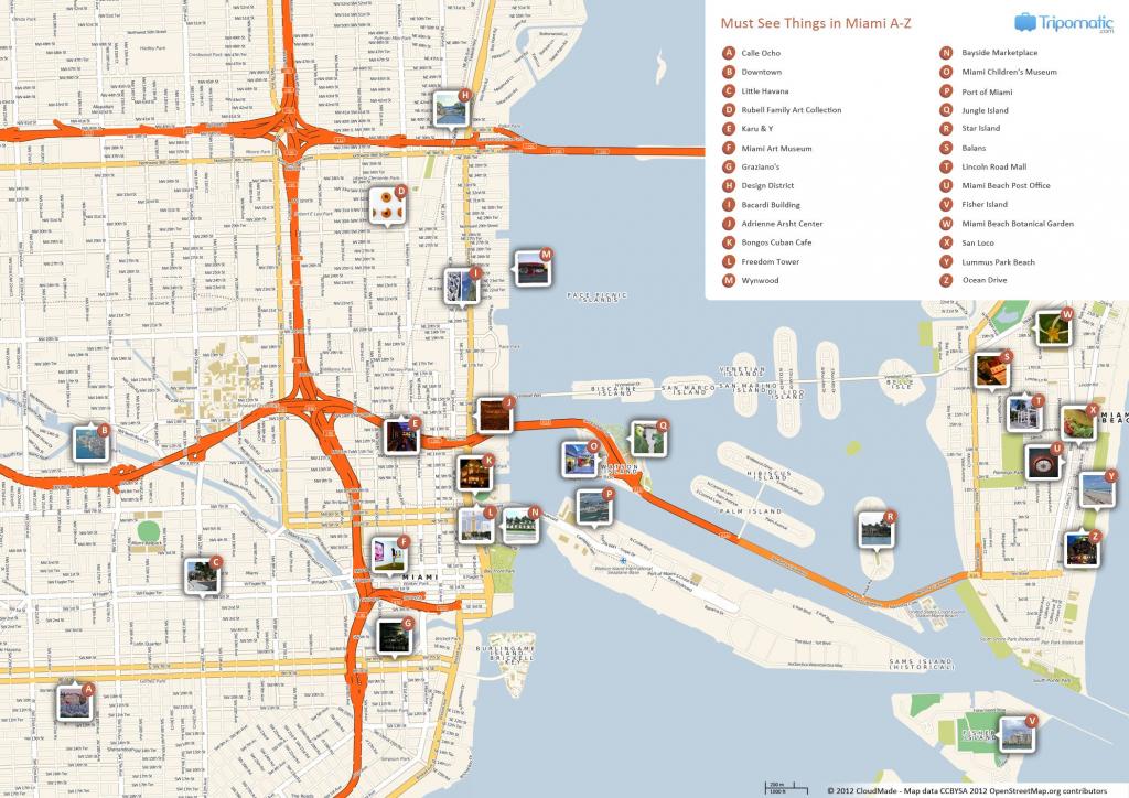 Miami Printable Tourist Map | Free Tourist Maps ✈ | Miami inside Printable Street Map Of Naples Florida
