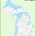 Michigan State Maps | Usa | Maps Of Michigan (Mi) Regarding Printable Map Of Michigan