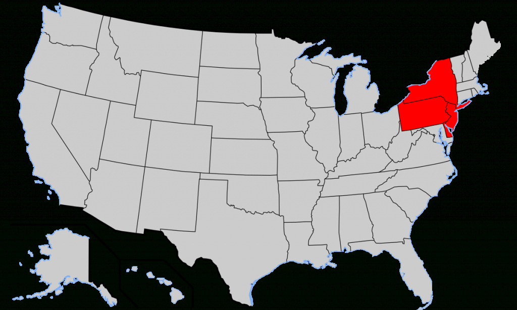 Middle Colonies - Wikipedia within Printable Map Of The 13 Colonies With Names