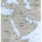 Middle East Maps   Perry Castañeda Map Collection   Ut Library Online Intended For Printable Map Of Middle East