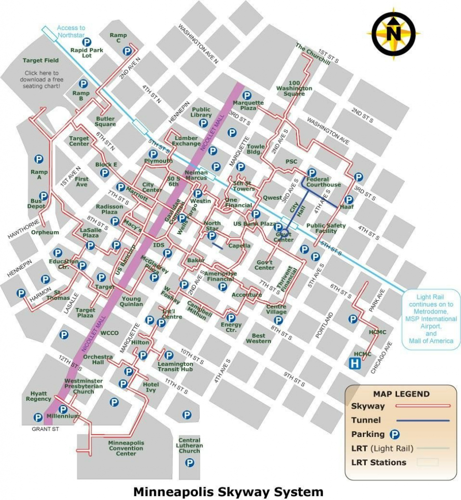 Minneapolis Skyway System - 2018 All You Need To Know Before You Go within Minneapolis Skyway Map Printable