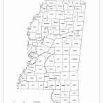 Mississippi Labeled Map Regarding Printable Map Of Ms