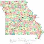 Missouri Printable Map Regarding Printable State Maps With Cities