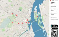 Montreal Printable Tourist Map | Montreal | Pinterest | Montreal with regard to Printable Map Of Montreal