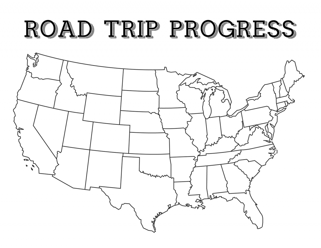 My 3 Monsters: Road Trip Essentials throughout Road Trip Map Printable