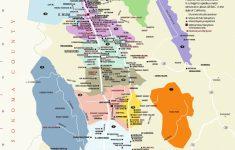 Napa Winery Map Printable