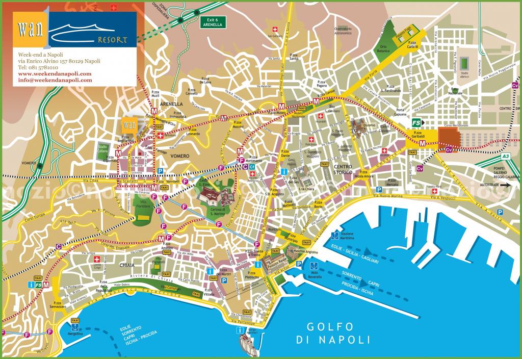 Naples Tourist City Centre Map throughout Printable Street Map Of Naples Florida