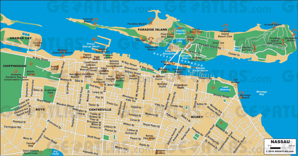Nassau Cruise Port Guide - Cruiseportwiki | Cruise - Eastern in Printable Map Of Nassau Bahamas