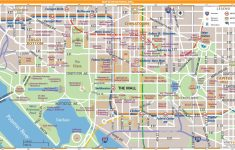 Free Printable Map Of Washington Dc