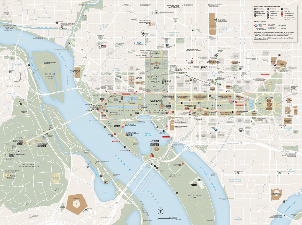 National Mall Maps | Npmaps - Just Free Maps, Period. throughout Printable Map Of The National Mall Washington Dc
