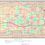 Nebraska Printable Map With Nebraska Map With Cities And Towns – Map intended for Printable Map Of Nebraska