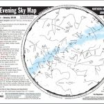 "Nesta Us🌎 On Twitter: ""printable Evening Sky Map For January For Printable Sky Map"