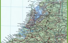 Printable Map Of Holland
