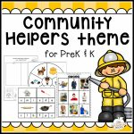 New! Community Helpers Theme Pack!   The Measured Mom In Community Map For Kids Printable