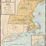 New England Colonies In 1677 | National Geographic Society With New England Colonies Map Printable