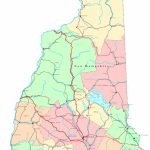 New Hampshire Printable Map Within Printable Map Of New Hampshire