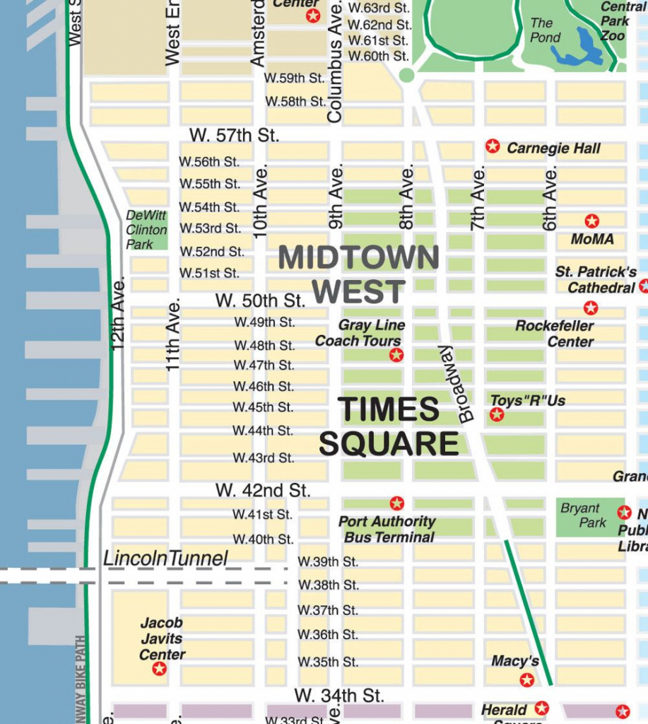 New York City Maps And Neighborhood Guide with regard to Printable Map Of Times Square