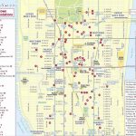 New York Top Tourist Attractions Map 35 Midtown Manhattan Hotel With Regard To Map Of Midtown Manhattan Printable