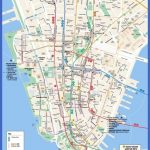 New York Tourist Map Pdf Manhattan Street Throughout Printable Map Manhattan Pdf