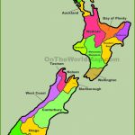 New Zealand Maps | Maps Of New Zealand With Printable Map Of New Zealand