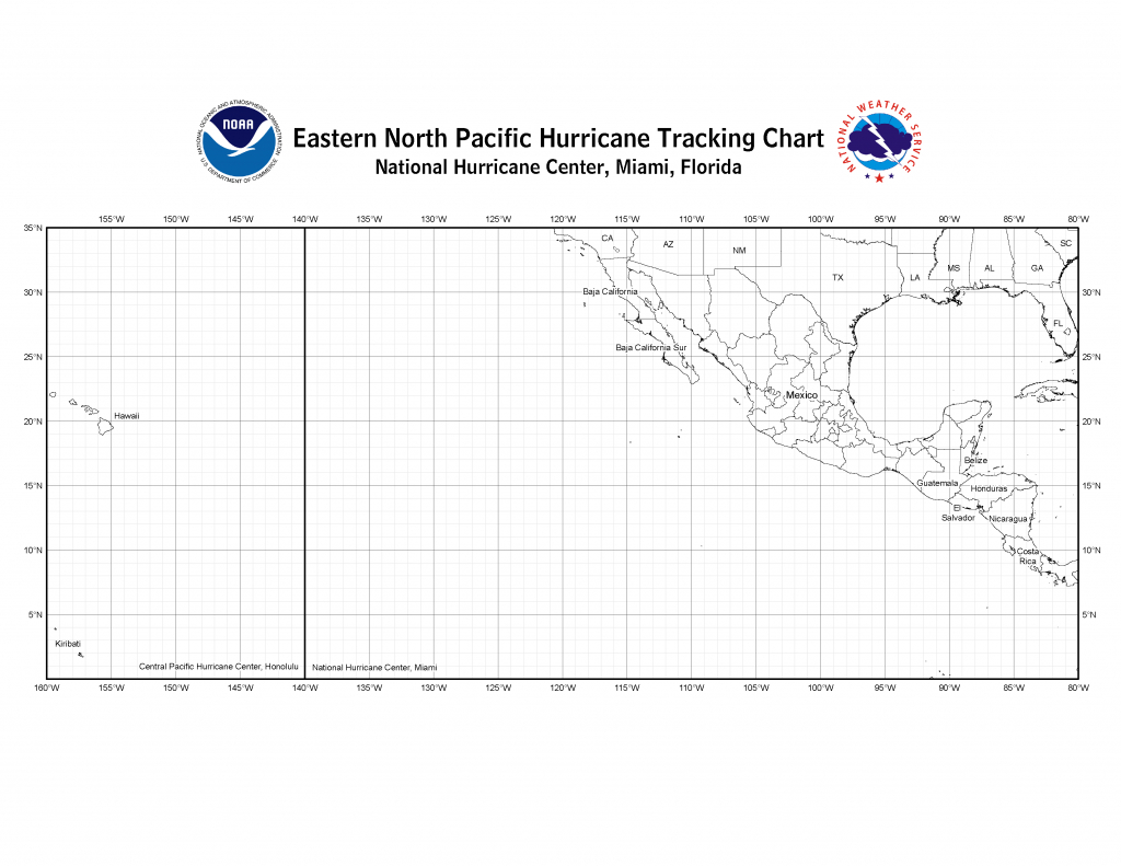 Nhc Blank Tracking Charts pertaining to Plot Map Printable