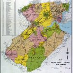 Nj Maps With Counties And Travel Information | Download Free Nj Maps Inside Printable Map Of Monmouth County Nj