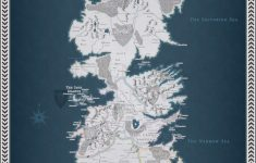 Printable Map Of Westeros