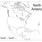 North America Map Quiz In Blank Of And South Roundtripticket Me A In North America Political Map Printable