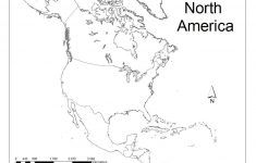 North America Political Map Printable