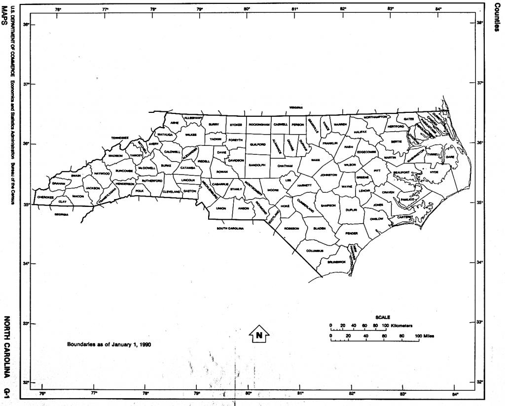 North Carolina Amazing North Carolina Map Outline - Diamant-Ltd in Printable Nc County Map