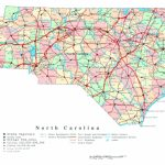 North Carolina State Maps Cool Map North Carolina Highways For Printable Map Of North Carolina
