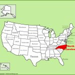 North Carolina State Maps | Usa | Maps Of North Carolina (Nc) Regarding Printable Map Of North Carolina Cities