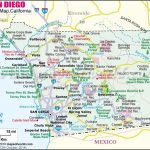 North San Diego Map   Map Of Northern San Diego (California   Usa) With Printable Map Of San Diego